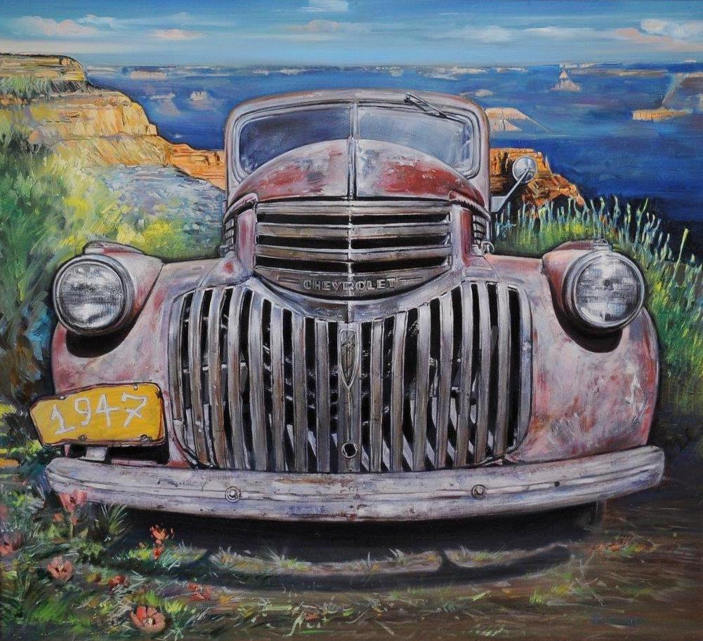 stary Chevrolet Hampl