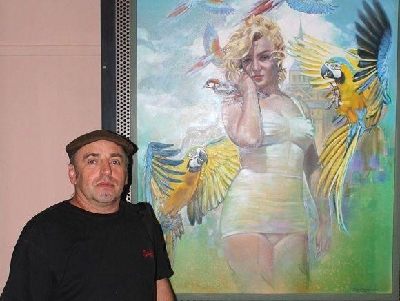 malíř Petr Hampl Pacov