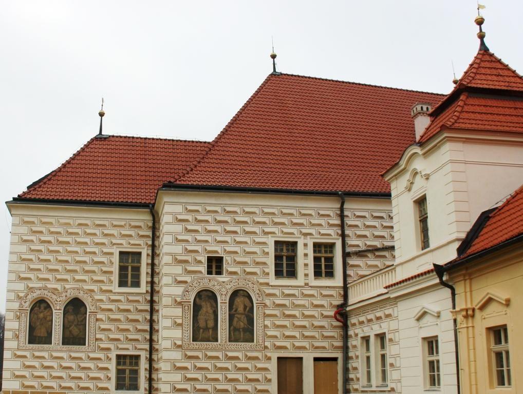 Trčkův hrad Želiv