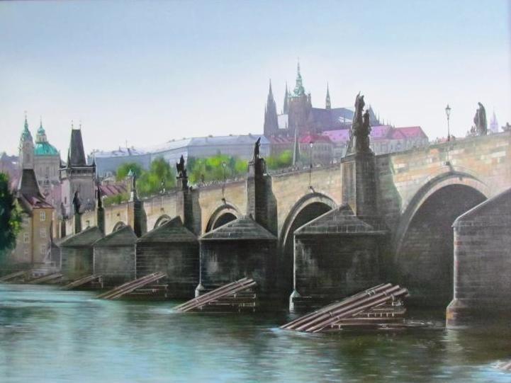 malíř Petr Hampl