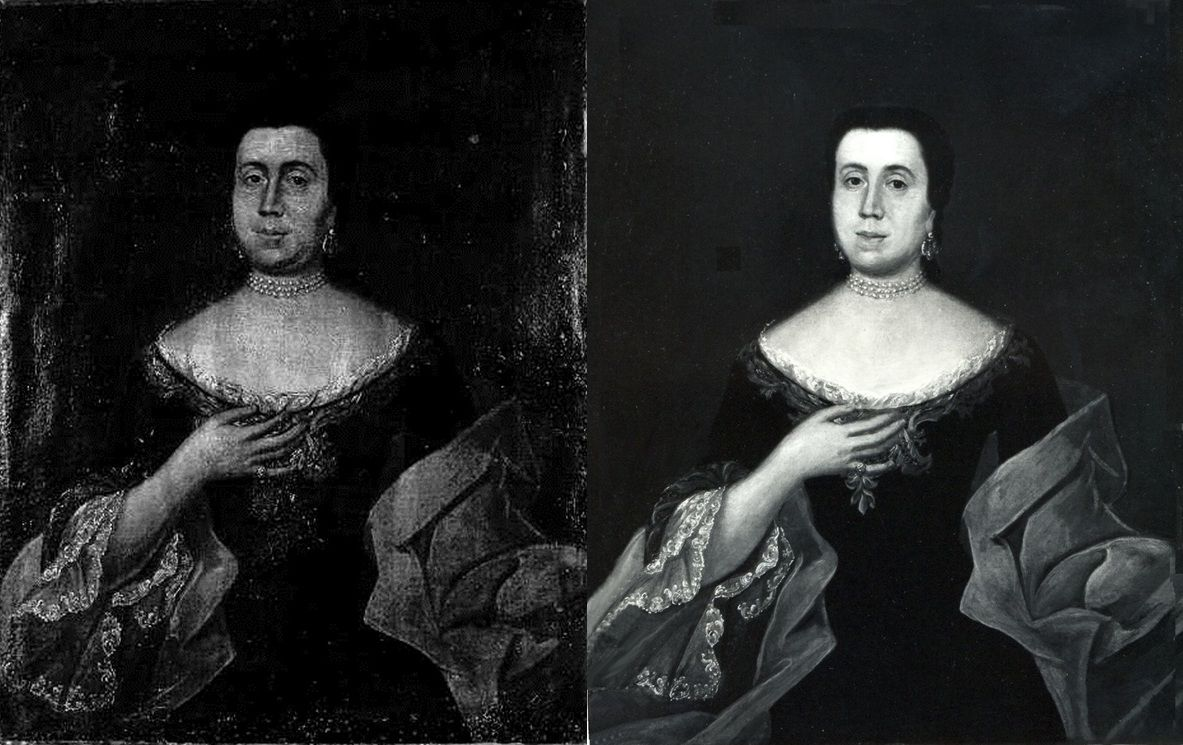 Restaurovani obrazu Hampl